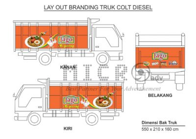 Advertising, Surabaya, Iklan, Outdoor, Billboard, Reklame, Leather, Souvenirs, Corporate, Gift, LED, Hotel, Amenities, Offset, Printing, Merchandise, Supplier, Jasa, Indonesia, Jawa Timur, MICRO ADVERTISING--Layout truck